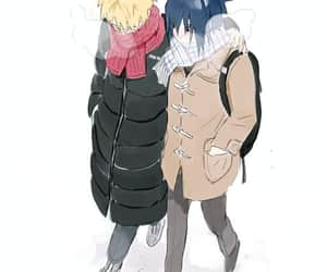 anime, sasuke, and naruto shippuden image