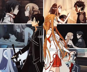 couple, asuna, and sword art online image