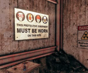 danger, fallout, and grime image