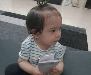 asian baby, park, and aciel image