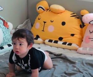 asian baby, baby, and korean image
