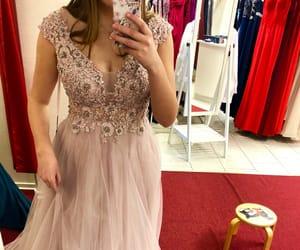 dress, glitter, and prom night image