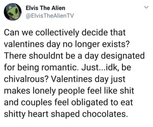 Valentine's Day, text posts, and text post image