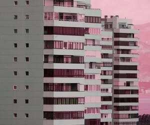 pink and building image