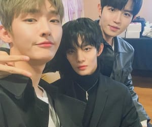 wanna one, bae jinyoung, and kim jaehwan image