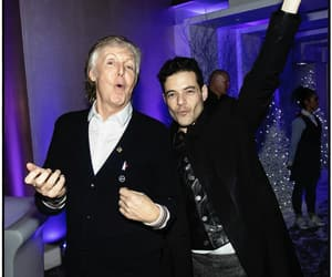 Paul McCartney and rami malek image