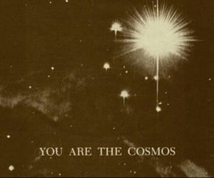 cosmos, quotes, and stars image