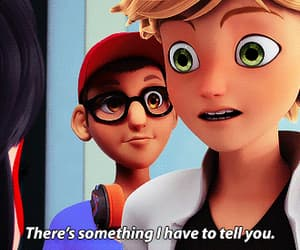Adrien, Chat Noir, and anime image