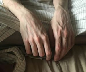 hands, kink, and pale skin image