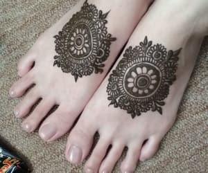 art, mandala, and mehndi image