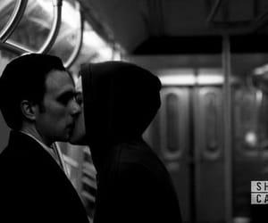 gay, kiss, and tyrell wellick image
