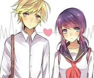 adrinette and laydi bug en anime image