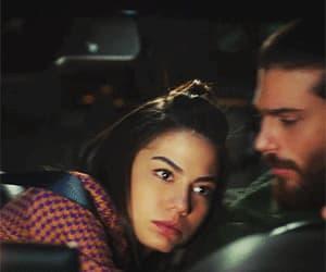gif, turkish drama, and love image