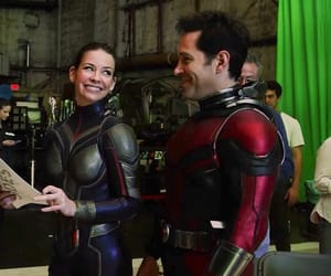 evangeline lilly, Marvel, and paul rudd image