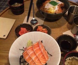 aesthetic, food, and sashimi image