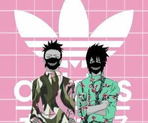 adidas, sasuke, and uchiha image