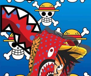 bape, luffy, and one piece image