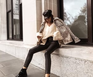 jacket and leopard print image