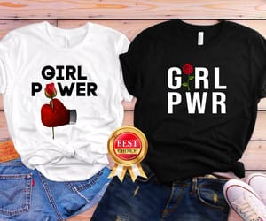etsy, feminist shirt, and red floral shirt image
