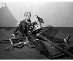 buster keaton, silent movies, and old photography image