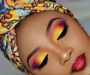 makeup, eyeshadow, and beautiful image
