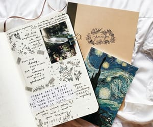 art, journal, and bujo image