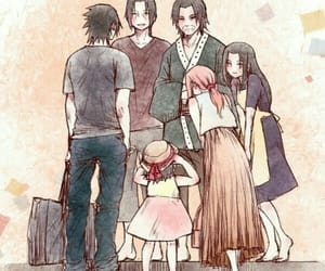 itachi, uchiha family, and sakura image