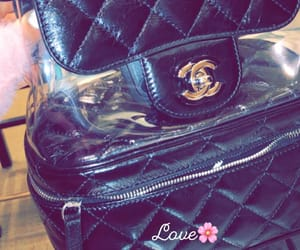 black, chanel, and women image