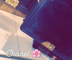 black, chanel, and new york image