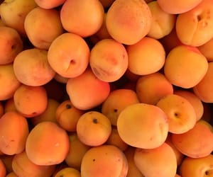 fruit, orange, and peach image