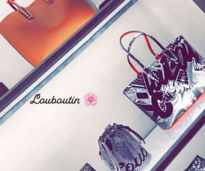 louboutin, shopping, and women image