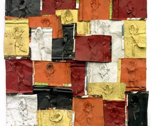 contemporary art, american visual artist, and collage artist image