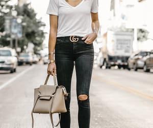 blogger, fashion, and gucci belt image