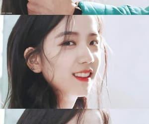 beauty, girl, and blackpink jisoo image