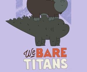 cartoon, funny, and Godzilla image