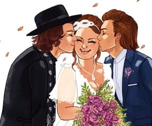 larry, harrystyles, and louistomlinson image