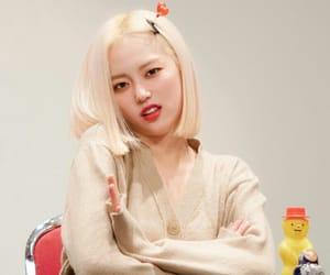crystal clear, girl, and yeeun image