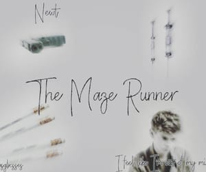 aesthetic, newt, and the maze runner image