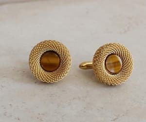 cufflinks, etsy, and mens jewelry image
