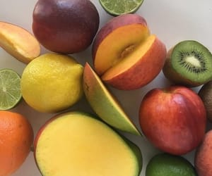 fruit, mango, and kiwi image