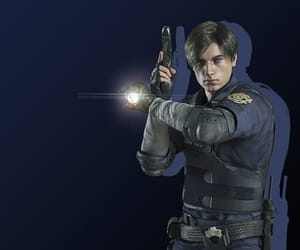 icon, video game, and leon kennedy image