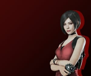 icon, video game, and ada wong image