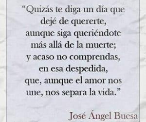 poema, josé angel buesa, and poesía image
