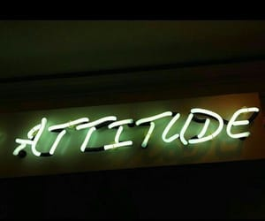 aesthetic, lights, and attitude image
