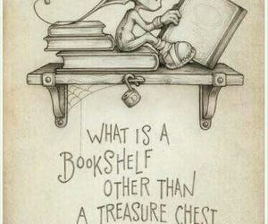 book, quotes, and bookshelf image