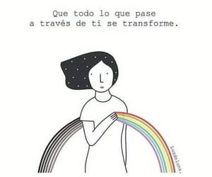 frases, rainbow, and tumblr image