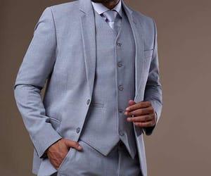 beauty, men, and suit image