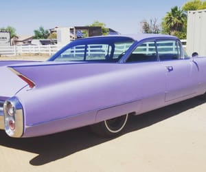 cars, lavender, and lilac image