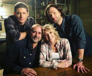 jared padalecki, jeffrey dean morgan, and Jensen Ackles image