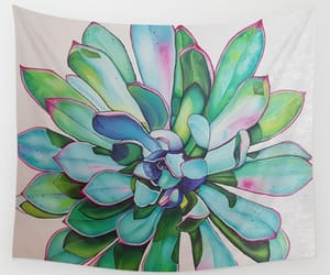 cactus, Oil Painting, and wall tapestries image